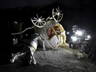 Materiais do Dismaland, de Banksy, serão levados a campo de refugiados