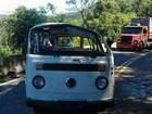 Kombi capota e deixa ao menos 18 feridos em Campestre da Serra, RS