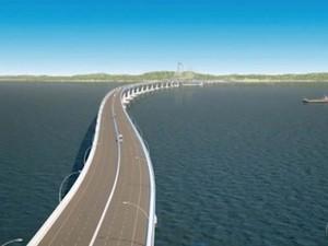 ponte salvador itaparica (Foto: Reprodução/Tv Bahia)