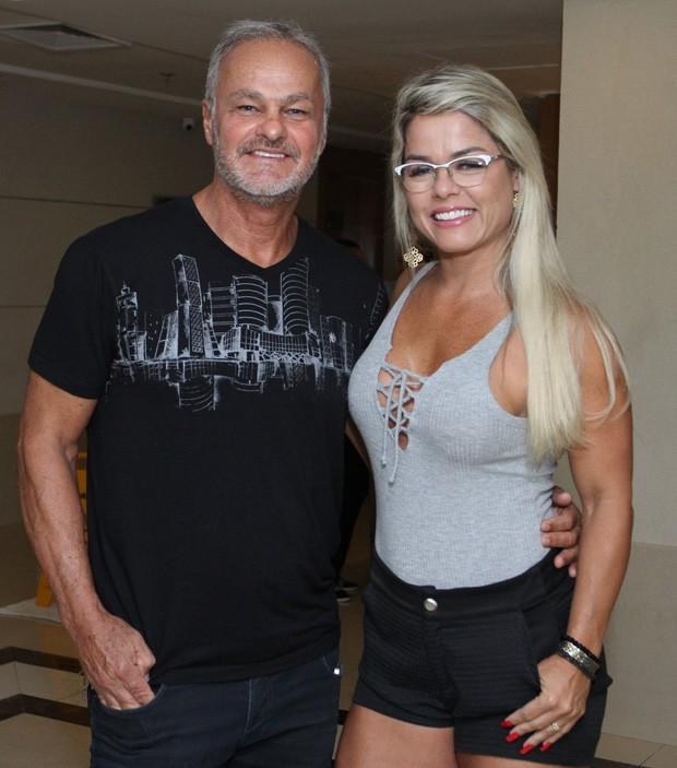 Kadu Moliterno e Cristianne Rodriguez (Foto: Thyago Andrade/Brazil News)