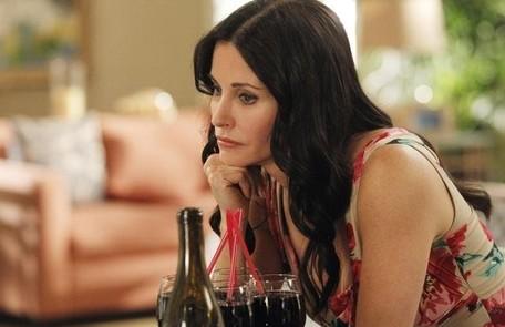 A atriz em cena, em 'Cougar Town' Divulgação
