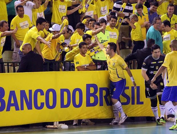 Falcão Futsal Brasil x Argentina (Foto: Flávio Moraes / Divulgação)