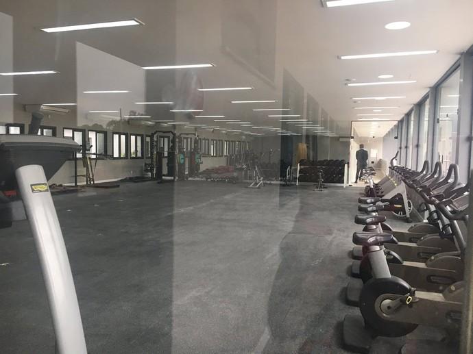 Sala de musculação Ninho (Foto: Amanda Kestelman)