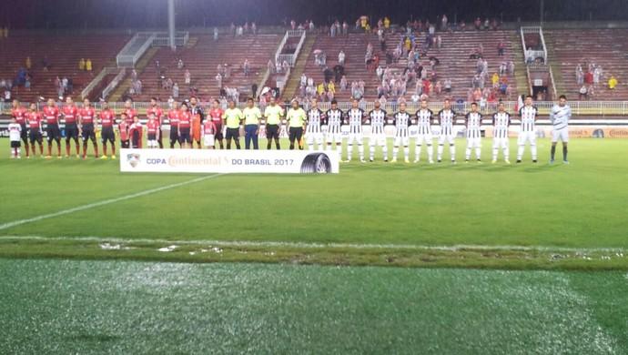 Joinville e São Raimundo Copa do Brasil (Foto: Sandro Lopes/TV Pantera)