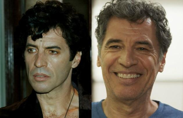 Paulo Betti foi o paranormal Joãozinho de Dagmar. Seu personagem previu o fim do mundo. O último trabalho dele na TV foi em 'Rock story' (Foto: TV Globo)