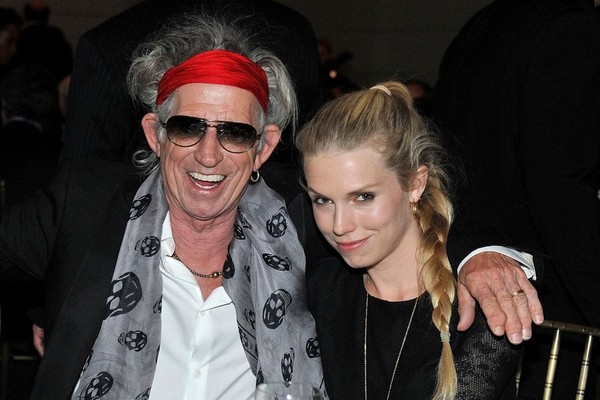 Keith Richards e Theodora (Foto: Getty Images)