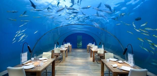 Restaurante Ithaa Undersea (Foto: Divulgação)