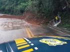 Trecho da BR-116 é liberado após queda de barreira em Caxias do Sul