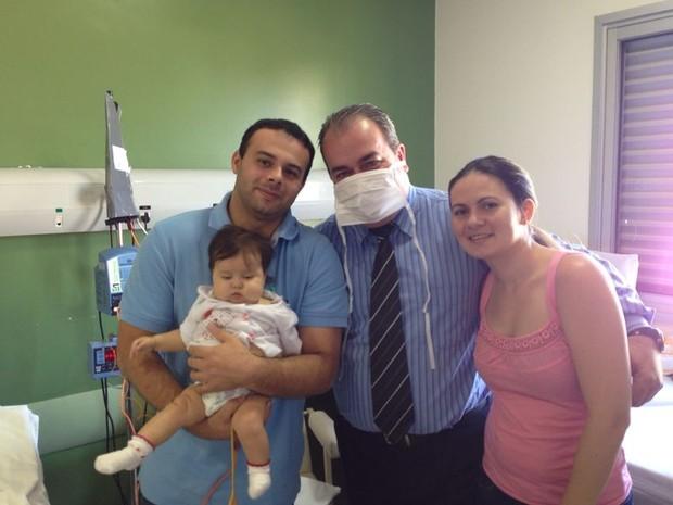 Sofia, bebê com doença rara, a síndrome de Berdon, de Sorocaba (Foto: Divulgação/Campanha Ajude a Sofia)