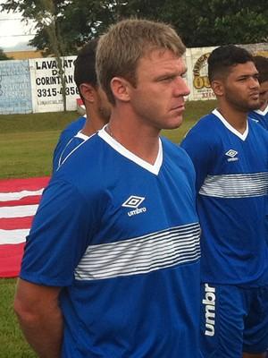 Rudimar atacante Uberaba Sport USC (Foto: Alex Rocha)