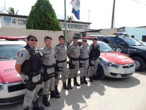 Major Fátima Basílio atua na 4ª Companhia Independente, no município de Atalaia (Foto: Karina Dantas/G1)