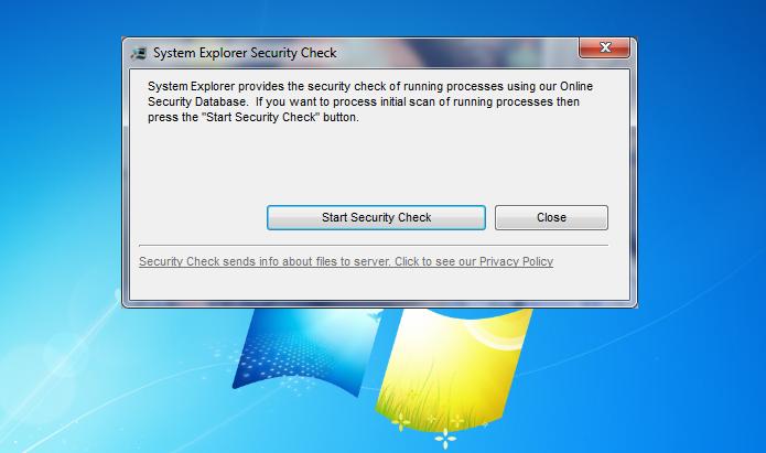 System Explorer pronto para verificar todos os processos (Foto: Reprodução/Edivaldo Brito)