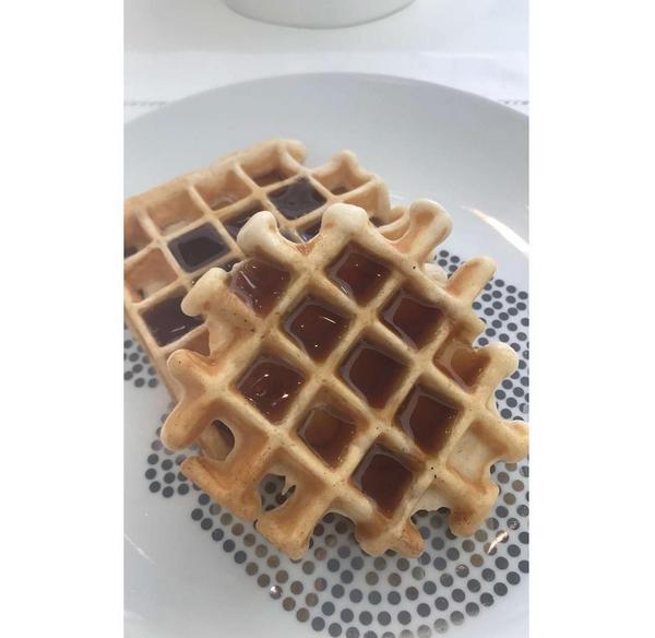 Uma foto de um doce compartilhada pela socialite Kylie Jenner (Foto: Instagram)
