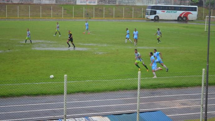 Ji-Paraná venceu o Ariquemes por 3 a 0 no Cassolão (Foto: Magda Oliveira)