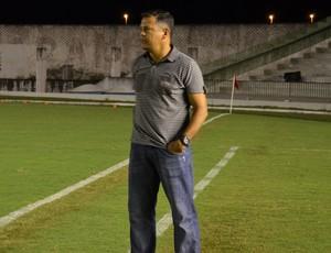 Jazon Vieira, técnico do Auto Esporte (Foto: Hévilla Wanderley / GloboEsporte.com/pb)
