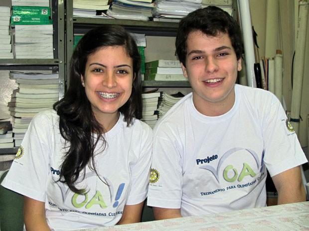 Tábata Amaral e Henrique Vaz criaram o VOA, em São Paulo (Foto: Vanessa Fajardo/ G1)