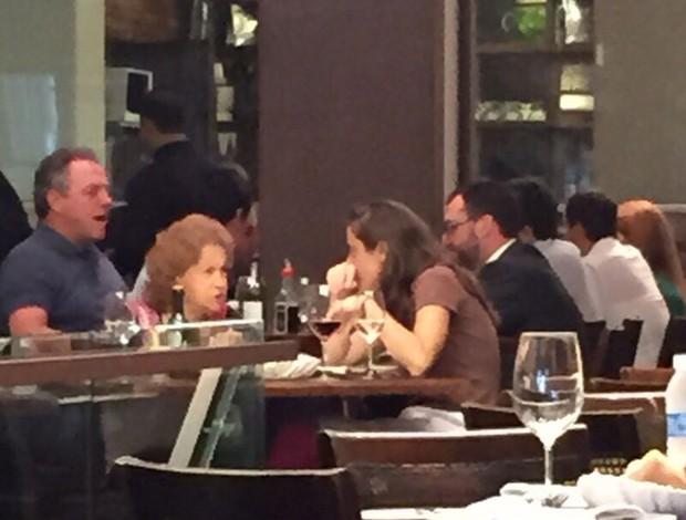Abel Braga e Mario Bittencourt almoçam juntos