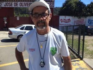 Para o técnico Darli Pereira o jogo foi importante para o time adquirir entrosamento (Foto: Wilkson Tarres / Globoesporte.com)