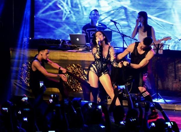 Wanessa em show no Rio no início de fevereiro (Foto: AG.News)