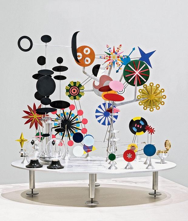 Releitura do brinquedo feito por Charles Eames assinada pelo mexicano Edgar Orlaineta (Foto: divulgação)