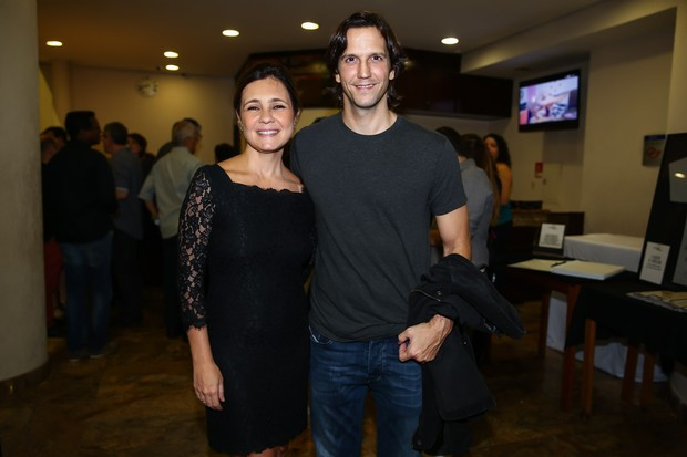 Adriana Esteves e Vladmir Britcha (Foto: Manuela Scarpa / Photo Rio News )