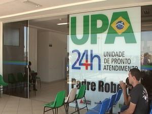 UPA Padre Roberto em Divinópolis (Foto: TV Integração/Reprodução)