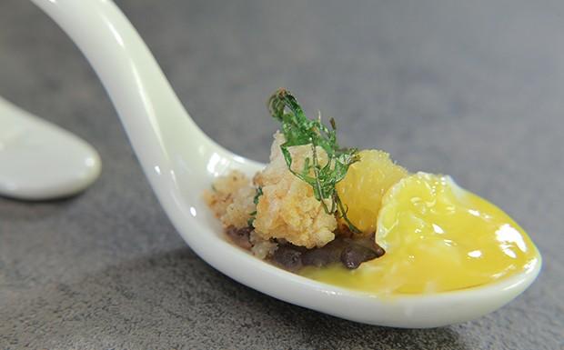 Receita de feijoada na colher (Foto: Reproduo / GNT)