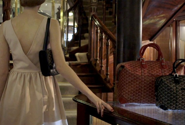 """Cena de """"Le Rendez-Vous"""", p primeiro vídeo da Goyard (Foto: Reprodução)"""