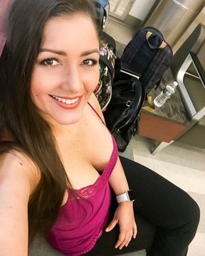 Nana Gouvêa postou foto no hospital enquanto aguardava notícias do neto (Foto: Reprodução / Instagram)
