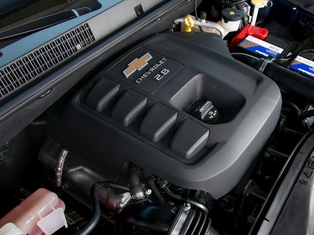 Motor 2.8 diesel da S10 não sofreu alterações (Foto: Divulgação)