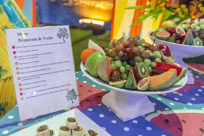 Cardápio do menu primavera/verão (Foto: Artur Meninea/Gshow)
