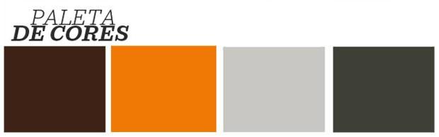 Décor do dia: cozinha cinza, laranja e cobre (Foto: Reprodução)