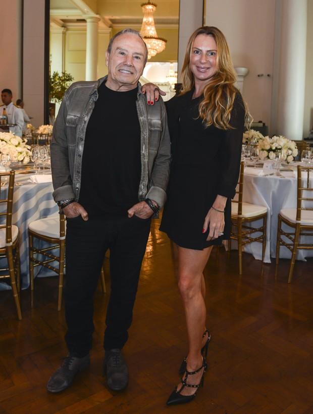 Marilene Saade e Stênio Garcia (Foto: Fabio Cordeiro/Ed. Globo)