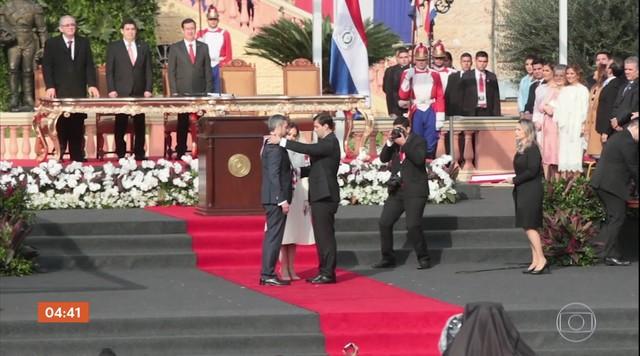 Presidente do Paraguai promete se aproximar mais do Brasil através de laços comerciais