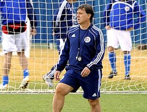 Gerardo Martino, técnico do paraguai (Foto: AFP)