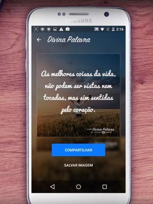 Lançado pela dona do 'Tinder', app 'Divina Palavra' é voltado a evangélicos para criar e compartilhar textos bíblicos. (Foto: Divulgação/Match.com)
