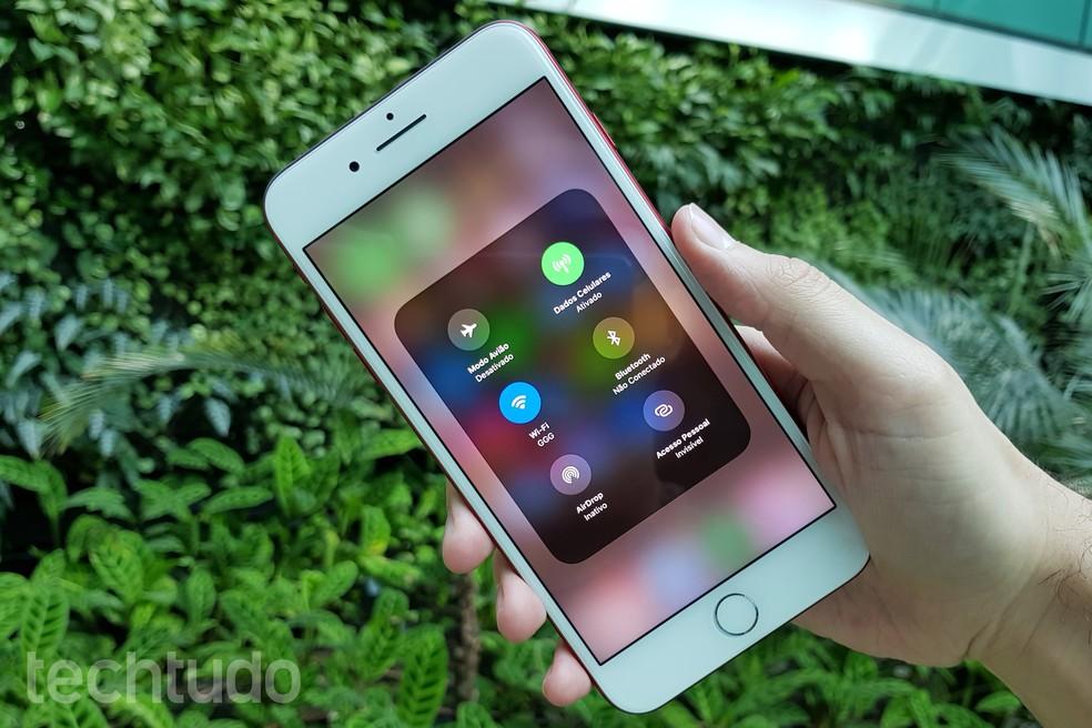 iOS 11 está disponível em iPads e iPhones para desenvolvedores (Foto: Thássius Veloso/TechTudo)