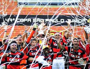 Flamengo - comemoração - campeão - Copinha