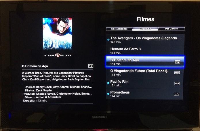 Nem pense em encher a AppleTV de filmes (Foto: Reprodução/Edivaldo Brito)