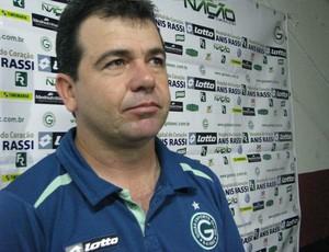 Enderson Moreira, técnico do Goiás (Foto: Rafaela Gonçalves/GLOBOESPORTE.COM)