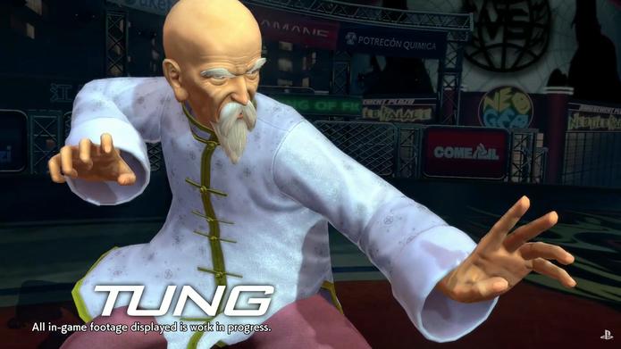 Tung Fue Rue, do primeiro Fatal Fury, estará em The King of Fighters XIV (Reprodução/SNK) (Foto: Tung Fue Rue, do primeiro Fatal Fury, estará em The King of Fighters XIV (Reprodução/SNK))