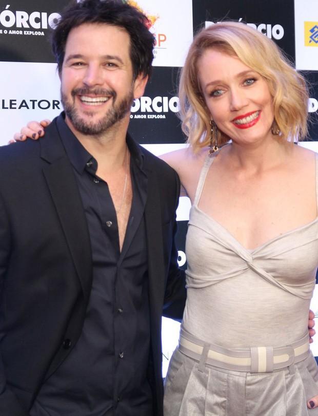 MUrilo Benício e Camila Morgado (Foto: Taty Larrubia/AgNews)