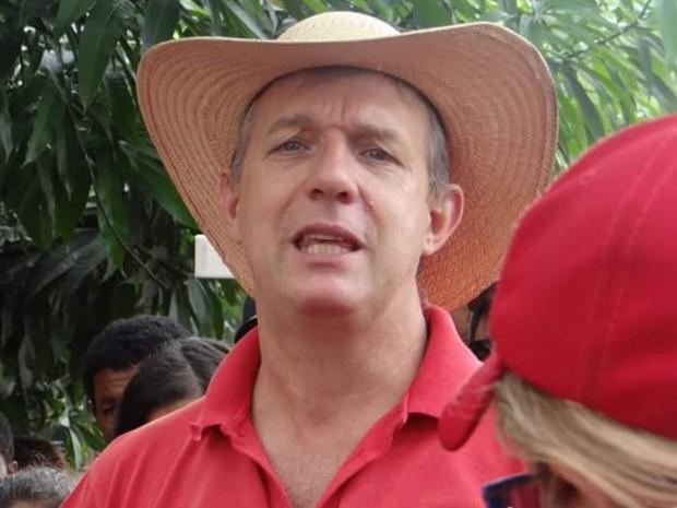 José Valdir foi preso suspeito de liderar uma organização criminosa, em Goiás (Foto: Reprodução/Facebook)