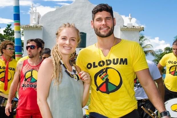 Dudu Azevedo participa das férias do Estrelas na Bahia (Foto: TV Globo / Tarso Figueira)