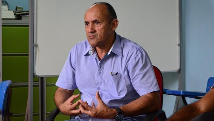 Sérgio Caranguejo, presidente do São Raimundo-RR (Foto: Nailson Wapichana)