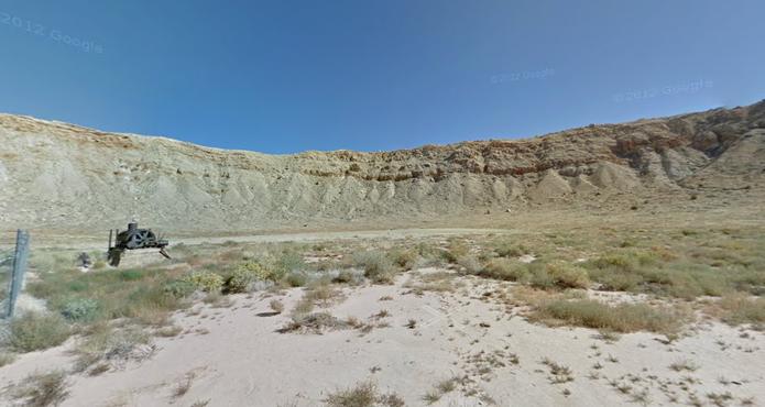 Grand Canyon no Street View do Google Maps (Foto: Reprodução/Paulo Finotti)
