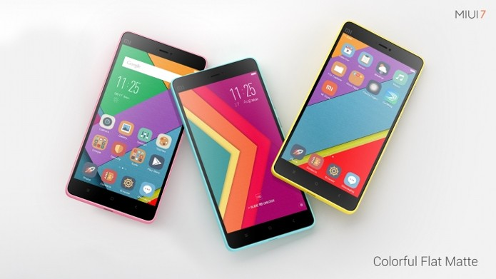 Smartphones da Xiaomi ganham nova interface a partir do fim do mês (Foto: Divulgação/Xiaomi)