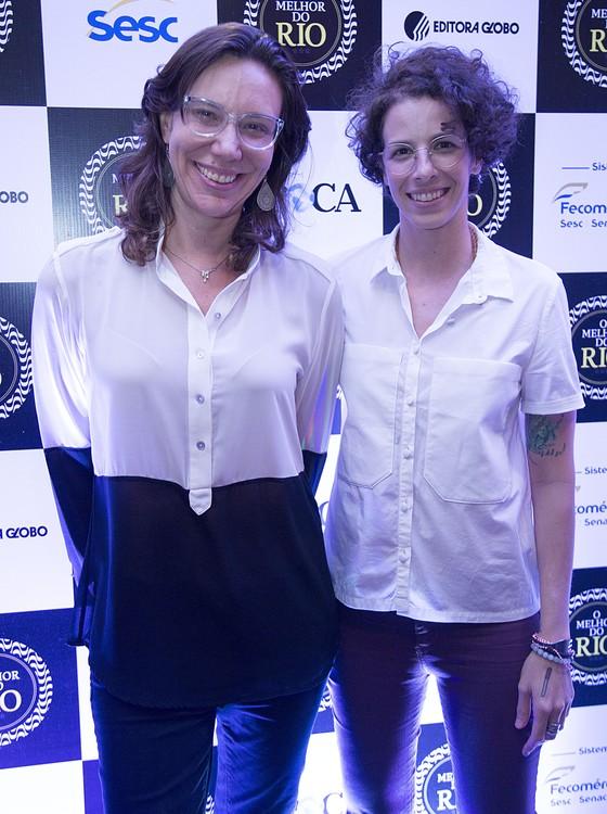 Branca Lee e Iona Roth, do Empório Jardim, eleito como mo melhor lugar para se tomar café da manhã no Rio (Foto: Felipe O'neil/Época)
