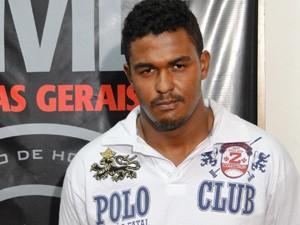 Clayton da Silva Gomes, ex-motorista do goleiro Bruno (Foto: Raquel Freitas/G1)