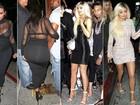 Kim, Kylie, Kendall, Khloe, Kourtney e Kris... Compare os looks mais sexy das Kardashians